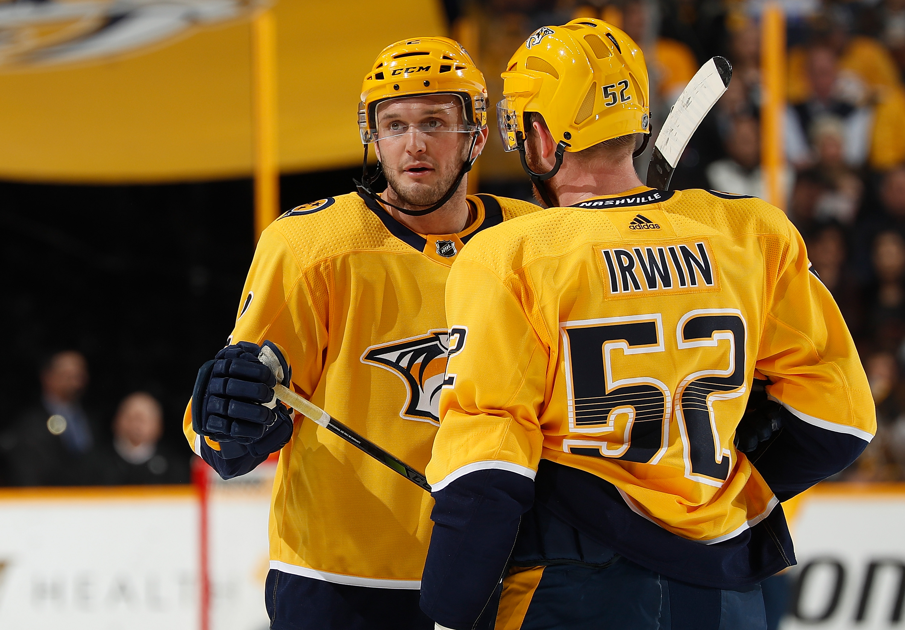 Predators officially sign trio of defenders to new deals
