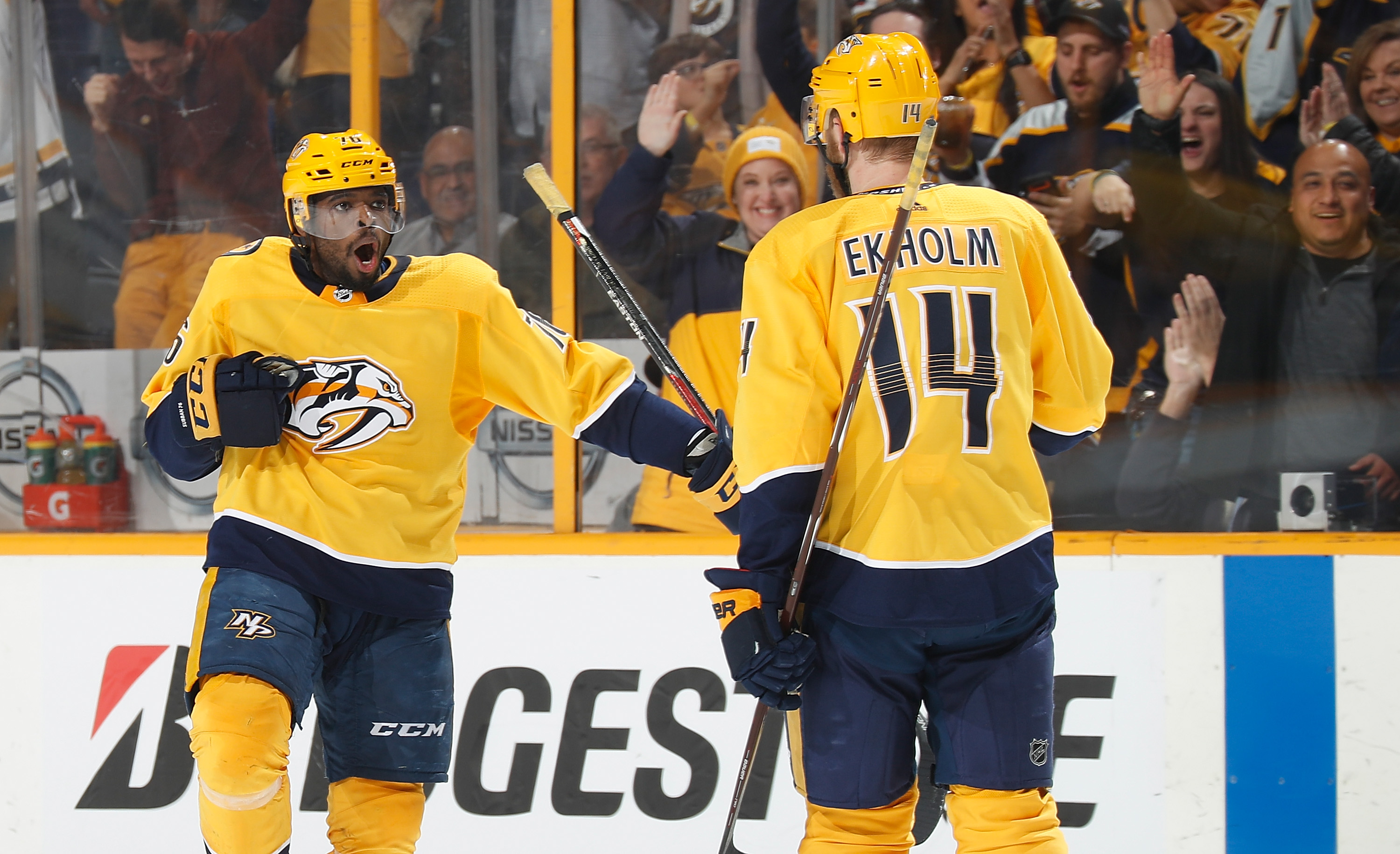 Fisher popping out of retirement with Preds